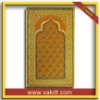 100% polyester muslim paryer mat with beautiful design CTH-204