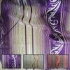100% polyester organza jacquard curtain