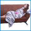 100%polyester polar fleece TV blanket