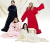 100% polyester polar fleece blanket print dyed anti pilling one side super soft and comfortable
