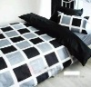 100% polyester printed bedding set