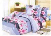 100% polyester printed bedding sets