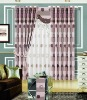 100% polyester printed curtain