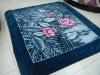 100% polyester printed mink blanket