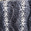 100% polyester printed velboa