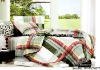 100% polyester simple home bedding set