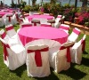 100% polyester tablecloth and table cover for wedding