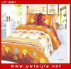 100%polyester textile products/ fashion design 4 pce bedlinen-Yiwu taijia home textile