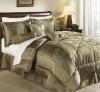 100% polyester yarn-dye 7piece jacquard comforter