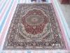 100% real silk carpets