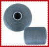 100% ring spun poly dyed colour yarn for knitting NE 60/3
