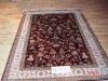 100% silk carpet