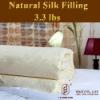 100% silk duvet