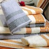 100% solid cotton set towel with border