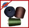 100% spun polyester ne 30/2 colors bright yarn
