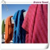 100% terry cotton striped beach towel / yarn dyed