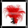 10pcs Home Decor Red Ostrich Feathers Decoration