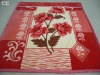 1ply&2ply weft and raschel polyester mink Blanket