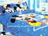 2 pcs set cartoon kids bedding set