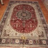 200L persian handmade wool and silk carpet