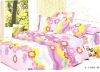 200T 100%COTTON PRINTED BEDDING SET/BED SHEET