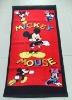 2011 NEW fashion cartoon Mickey beach towel/gift towel