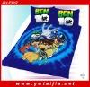 2011 hot sale 100%cotton children cartoon bedding set