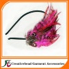 2011 hot sell fashion feather headband