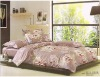 2011 new 100% cotton reactive printed bedding set
