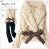 2011 new fashion rabbit fur garment