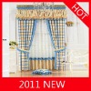 2011 new jacquard window curtain for new style