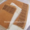2012 100% cotton siege towel(manufacturer)