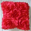 2012 3D embroidery rose cushion cover