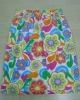 2012 Fashion flower printed towel dress/ cotton bath skirt