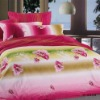2012 Latest design floral comforters