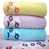 2012 New Style Bamboo Fiber Face Towel