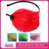 2012 bridal feather headbands