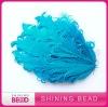 2012 fashion curly feather headband