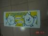 21S velour reactive printting cartoon Bath Towel