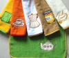 21s/1 terry kitchen towel with Embr.& covered edge