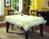 "3""lace edge PVC tablecloth"