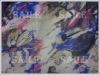 30D printed chiffon fabric