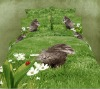 3D Reactive Environmental cat print bed sheet animals