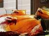 3D eagle photo screen printed Bedding set/Bed Sheet
