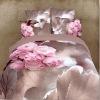 3D floral bedding
