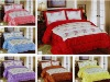 3Pcs Satin Printed Comforter Set