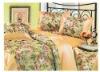 4 pcs Comfortable Beautiful flower bedding set