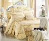 4 pcs cotton bed sheet set