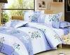 4 pcs reactive printed bedding set