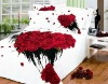 4 pcs romantic bed sheet